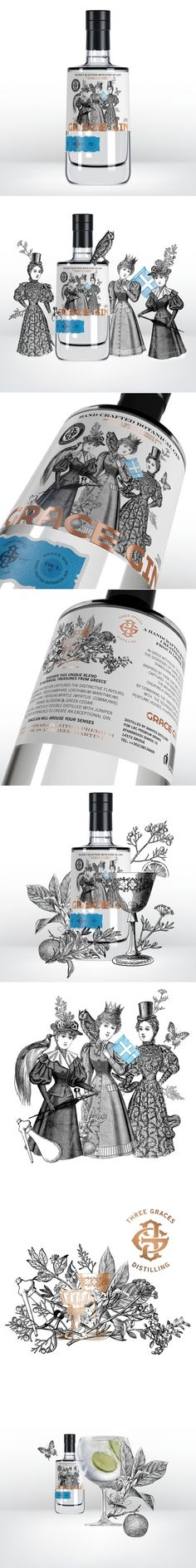 Grace Gin Is an Elegant Small-Batch Gin Directly From Greece — The Dieline | Packaging & Branding Design & Innovation News