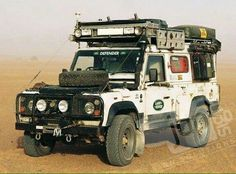 Gerry cans on side for easy access and more room on top. Landrover Defender, Defender Td5, Land Rover Defender 110, Offroad, 4x4 Wheels, Land Rover Models, Overland Truck, Expedition Vehicle, 4x4 Trucks