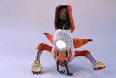 "Saatchi Online Artist: Norman Sherfield; ""Waxed Linen Boll Weaver, Adult Stage"""