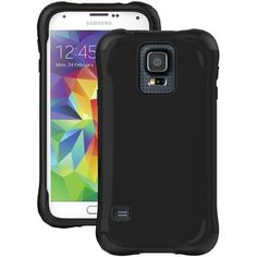 Ballistic Samsung Galaxy S 5 Urbanite Case (black And Black) - MNM Gifts Music System, Electronic Gifts, Electronics Gadgets, Samsung Galaxy S5, The Ordinary, Cell Phone Accessories, Technology, Black, Layers