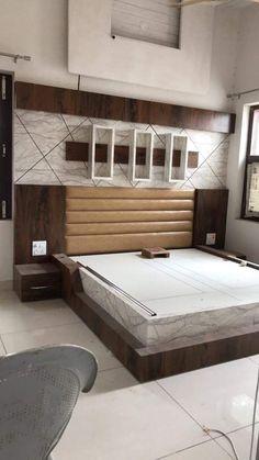 furniture design guide tips for modern bedroom design Bedroom Wall Designs, Bedroom False Ceiling Design, Bedroom Cupboard Designs, Wardrobe Design Bedroom, Luxury Bedroom Design, Bedroom Closet Design, Bedroom Furniture Design, Bed Furniture, Beautiful Bed Designs