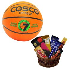 Gift Pack Of Rakhi Choclates And Basketball A Car Shaped Rakhi With Glowing Light Which Can Later Be Used As Keyring K Basketball Gifts Cosco Gift Packs