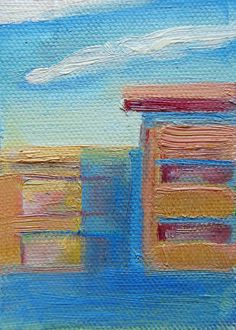 ACEO PRINT contemporary painting Oil.. sweet art by @Brandy Cattoor