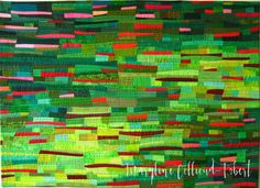 "Maryline Collioud-Robert, ""Paysage imaginaire"", contemporary, quilt"