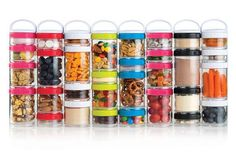 Save space and forget the hassle of multiple containers. These stackers store food and other necessities within their sealed, durable walls. Get it here.