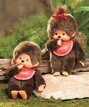 omg i didnt know they even made these anymore. i had a monchhichi, she was so cool...lol