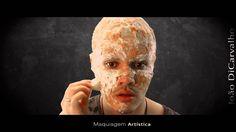 Maquiagem Artística Zumbi por João DiCarvalho #makeup #makeupartistic #makelove