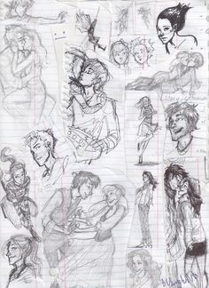 burdge: First Semester doodles.