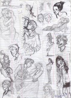 burdge: First Semester doodles.