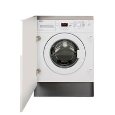 Beko QWM84 White Built In Washing Machine   Departments   DIY at B&Q