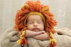 Ravelry: Lion Mane Bonnet pattern by Briana Olsen