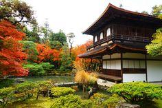 Ginkakuji temple.銀閣寺