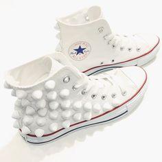 #IROZA #deadman #converse #studs #sneaker #white by iroza_press