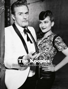 Zimon & Stephanie for The Kooples SS14 #campaign #thekooples #couple