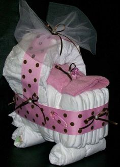 It Girl Baby Shower Decorating Ideas | This Pictures Baby Shower Diaper Cake Ideas for Girls, has dimension ...