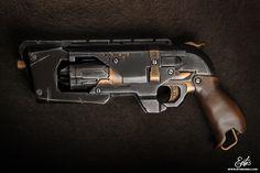 Step by step DIY Nerf Hammershot diesel / Steampunk custom   Ethis Crea