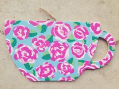 Craftin's a habit, lilly pulitzer design