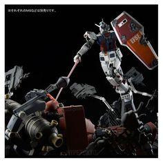 Mobile Suit Gundam Thunderbolt Master Grade 1/100 Plastic Model : FA-78 Full Armor Gundam (GUNDAM THUNDERBOLT Ver.) Last Session Ver.