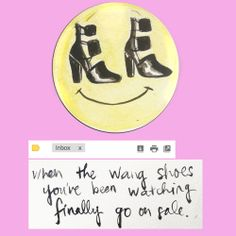 When the Wang shoes you've been watching finally go on sale. www.thecoveteur.com/fashion-emojis-we-wish-existed