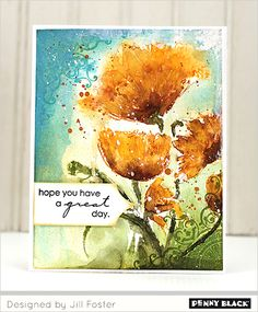 Featuring Brushstroke Stamps, Day 3