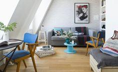 BAMBÙ   «Sous les toits des Paris», appartement coup de coeur Houzz