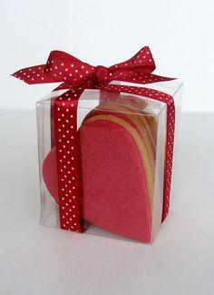 cookies; very cute packaging idea