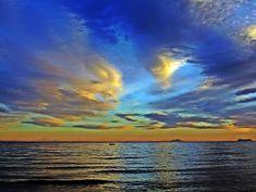 Nubes del atardecer
