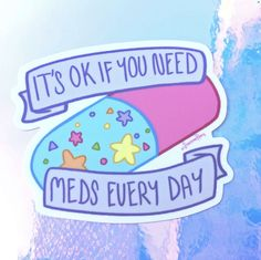 did you take your meds today? Mental And Emotional Health, Mental Health Matters, Mental Health Quotes, Mental Illness Awareness, Its Ok, Daily Reminder, Ptsd, Trauma, Chronic Illness