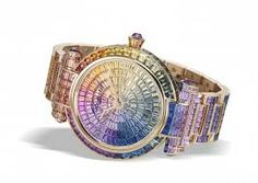 Chopard Imperiale Joaillerie Watch Shines Like A Rainbow At Baselworld 2016 Ring Watch, Bracelet Watch, High Jewelry, Jewelry Accessories, Jewelry Bracelets, Necklaces, Swiss Army Watches, International Jewelry, Chopard