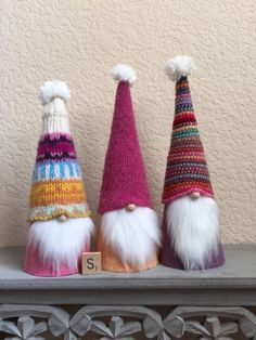 A personal favorite from my Etsy shop https://www.etsy.com/listing/273156334/cute-scandinavian-sweater-gnomes-set-of
