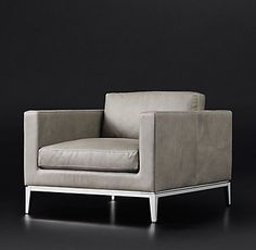 Italia Shelter Arm Leather Chair Modern Chairs, Restoration Hardware, Great Rooms, Home Furnishings, Luxury Homes, Sofas, Love Seat, Accent Chairs, Armchair