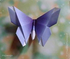 Поделка изделие Оригами Оригами Бабочки Бумага фото 1