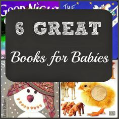 6 Great Books to Snuggle With Your Baby and Read