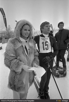 Camilla Sparv, one of skiing's all timers w RR. From Downhill Racer.