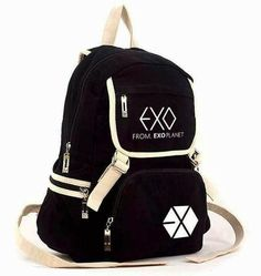 Cheap Sale Exo Korean Version Baekhyun Backpack Pu School Bag Floral Flower Bag Personality Small Backpack Women Backpack Leather Backpack Reliable Performance Men's Bags Luggage & Bags