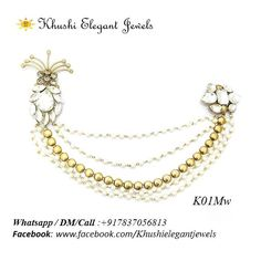 7fe407eb4 This beautiful Chain Brooch can be used on Sherwani, Saree and Dresses