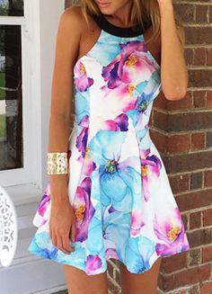 Fashion Trendy Floral Print Women's Dress, Do You Like it?