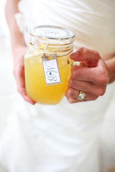 Cute jar idea for a wedding or event