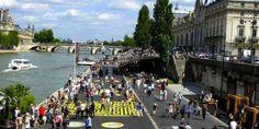 De kades van de Seine, Les Berges,vanaf het Musée d'Orsay richting de Eiffeltoren Op de linkeroever  zijn aangepakt en erg tof geworden.  Hoe kom ik daar ? De metrohalte Invalides heeft vanw…