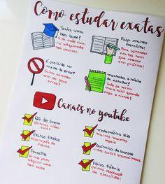 """291 curtidas, 12 comentários - ⠀⠀⠀⠀⠀⠀⠀⠀⠀✨ Letícia Barbosa ✨ (@rumoa_aprovacao) no Instagram: """"Dica do dia: Como estudar exatas ❤️ #Exatas #exercicios #youtube #videoaulas #ler #anotar #estudar…"""""""