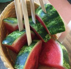 Watermelon lollies 🍉 Watermelon Lollies, Fruit, Food, Essen, Meals, Yemek, Eten