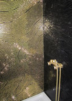 PIERRE MESGUICH - Kyoto black and gold shower