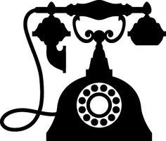 dibujos telefonos vintage png - Buscar con Google