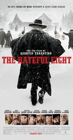Resultado de imagen de the hateful eight posters