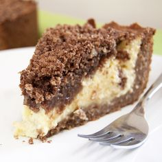 "Petersburger Streuselkuchen - ""It's like a really fabulous cheesecake and a streusel coffeecake all rolled into one."""