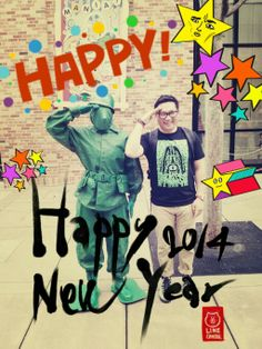 Happy new year my dear friends and family. 2013 is though years for my life. Stay strong and believe your dream. Happy new 2014!!!@Nakanari Shiau @maihiroteam #Nakanari #Nakanari #newyea
