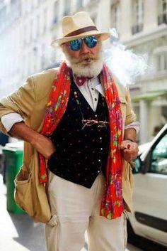 Estas 22 fotos son la prueba de que para tener estilo, la edad no importa