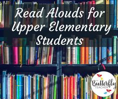Read Alouds for Upper Elementary Students Inside: You will find read alouds for upper elementary students that can be used for a variety of occasions in the classroom. This post also includes FREE … Upper Elementary Resources, Elementary Library, Elementary Schools, Montessori Elementary, Read Aloud Revival, 6th Grade Reading, Reading School, Reading Groups, Library Lessons