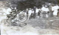 Motorcycle Hill Climb, Harley-Davidson, Joe Petrali, by hondagl1800, via Flickr