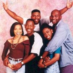 martin- hilarious show this was. interestingly, tichina arnold martin lawrence would later play husband wife in the movie, 'wild hogs'. Martin And Gina, Martin Show, Martin Lawrence Show, 90s Tv Shows, Movies And Tv Shows, Black Sitcoms, Black Tv Shows, Cinema, My Black Is Beautiful